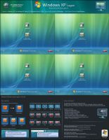 Windows XP Small Frames v5 by mjamil85