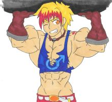 Muscled Up Vare by ryugaxryoga