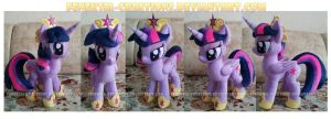 Twilight Sparkle with accessories by FeneksiA