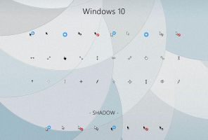 Windows 10 Cursors by alexgal23