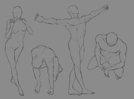 Some Poses by stretch1