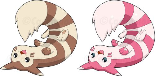 +162 - Furret+ by Cachomon
