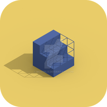 Cube Logo Concept by MoeRBLX