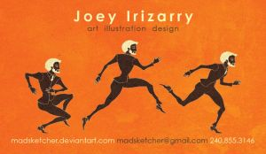 Joey Irizarry Business Card by MadSketcher
