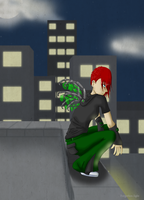 My Own Wings Above the City by forgotten-light