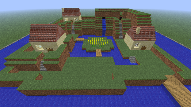 Final Fantasy Mystic Quest - Aquaria in Minecraft by kyanjohansson