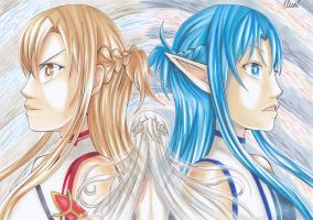 Asuna ~ virtual life by CrystalMelody-FT