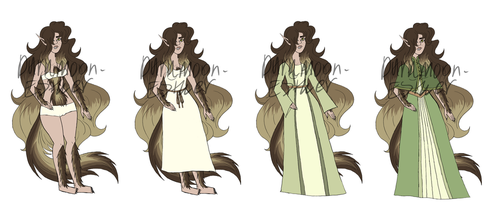 Wendis Outfits by Darkmoon-Esther