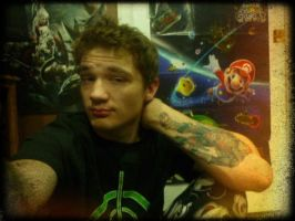 Michael Jones (Roosterteeth/Achievement Hunter) by PenelopeZahra