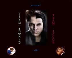 Are you Team Edward or Team Jacob by Maysa2010