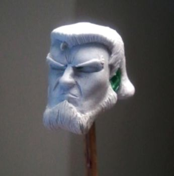 Macbeth Head Sculpt almost finished (1:12) by AnthonysCustoms