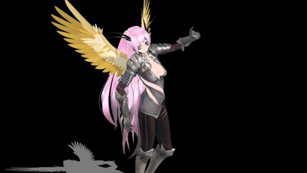 MMD TERA Online - Nylaathria Luca Valkyrie Downloa by Entzminger500