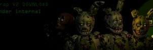 Springtrap V2 [FULL BLENDER RELEASE] by CoolioArt