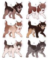 Natural Themed Puppy 5$ Adopts {OPEN} by SilverPocky