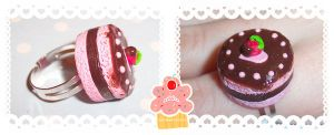 chocolate dipped strawberry by neko-crafts