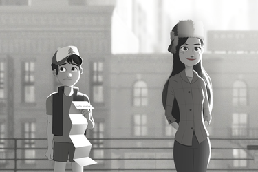 Paperman by markmak