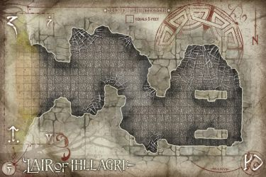 Lair of Illigari by TheRedEpic