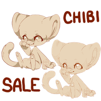 Chibi Super Sale! by nevaeh-lee