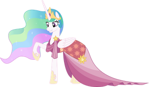 Celestia : Belle of the Ball by cheezedoodle96
