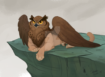 Owl Griffin by Surfergirl015