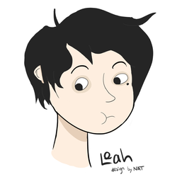 This is a drawing of a boy by catfaced