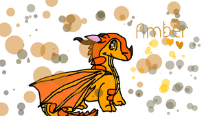 Awesome Amber (prize) by CloudtheDragonet