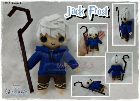 Jack Frost Plush by SongAhIn