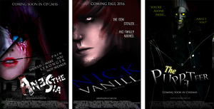Creepypasta Movie Posters. by Dav-Ink