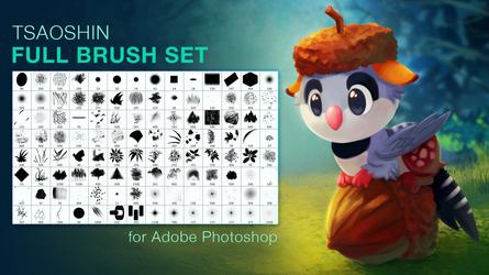 TsaoShin Full Brushes Set by TsaoShin