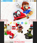 Super Mario Odyssey - Custom 3DS Theme [DOWNLOAD] by MarioMinecraftMix
