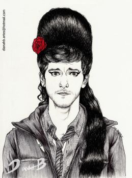 Sam Pinkett  is Back to Black - Mathew Baynton by Dianah3