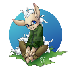bunnies! by Ever-Evi