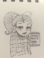 TLH: A Tired Luan by CartoonAnime2000