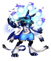 Lucario (ghost type) by HPE24