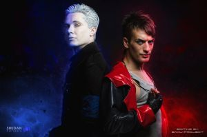 Nephilim Brothers - Dante and Vergil DmC Cosplay by LeonChiroCosplayArt