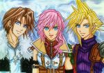 Cloud, Squall, Lightning: No match for us! by dagga19