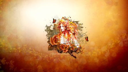 Janesko Fall Treasures WP by KiyaSama