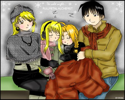 FMA - cold night by rose123321123