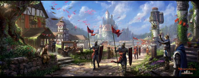 neverwinter stronghold by Gunzfree