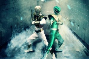 Power Wars - Kiba and Dragon Rangers by VFX-KING
