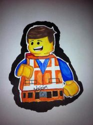 Emmet From The Lego Movie by SketchinWithCedTatau