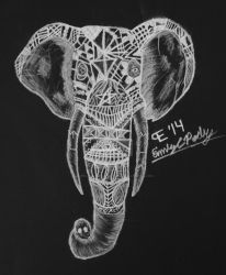 Elephant Design by TheBlondeDemonsCreed