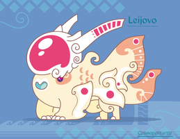 Hiraeth Creature #708 - Leijovo by Cosmopoliturtle