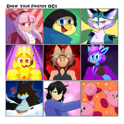 Friend Meme by SapphireLiz