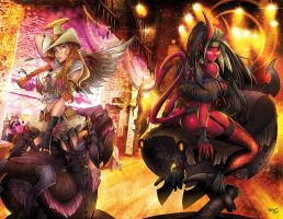 Cow Hell Girl Cover FINAL by RobDuenas