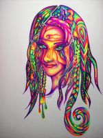 Psychedelic Thoughts by NicoDauk