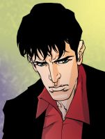 Dylan Dog colored by MeloMonaco