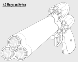 .44 Magnum Hydra by hammerofsilver