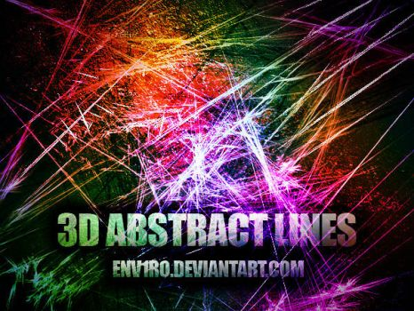 3D ABSTRACT LINES by env1ro
