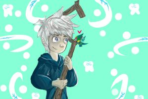 Jack Frost and Baby Tooth by Anna-Phase